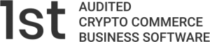 1st audited crypto commerce business software