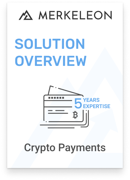 Software for crypto payments