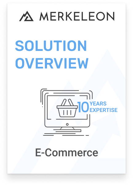 E-commerce software solution