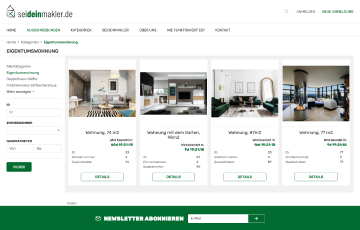 Seideinmakler real estate marketplace