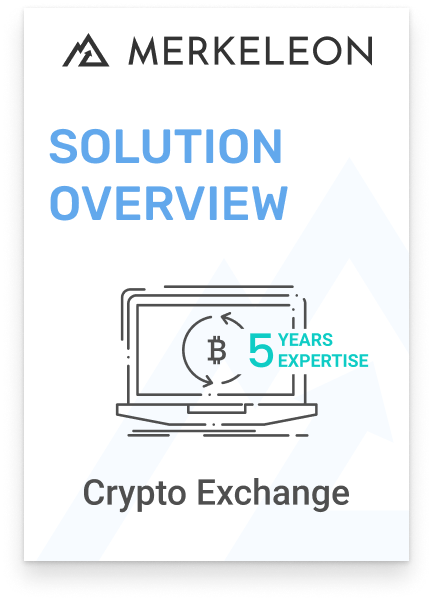 Crypto exchange software